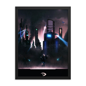 """Remember Reach"" Framed Premium Luster Photo Paper Poster"
