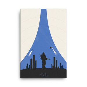 """Halo 3: ODST"" Canvas Print"