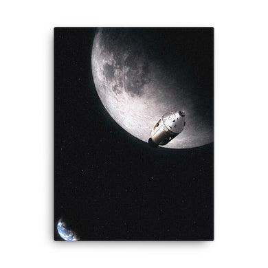 nasa apollo moon poster