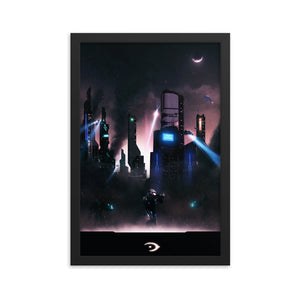 """Remember Reach"" Framed Matte Poster"