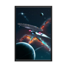 "Load image into Gallery viewer, ""Make it So"" Framed Premium Luster Photo Paper  Poster"