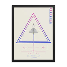 "Load image into Gallery viewer, ""Eurofighter Typhoon"" Framed Matte Poster"