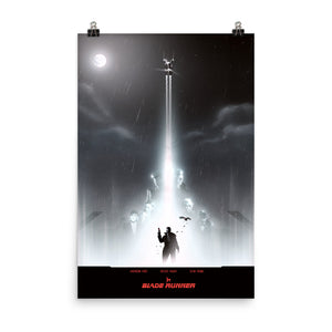 """Bladerunner"" Photo Luster Photo Paper Poster"