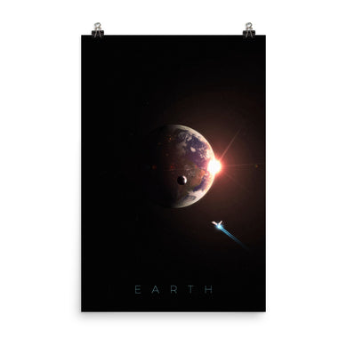 planet earth nasa poster from noble-6 design