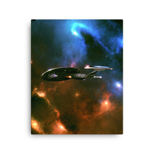 """Enterprise-E"" Canvas Print"
