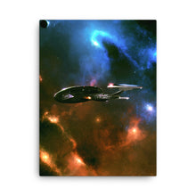 "Load image into Gallery viewer, ""Enterprise-E"" Canvas Print"