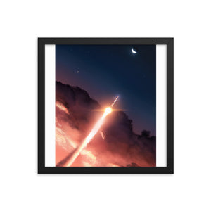 """Apollo 11"" Framed Matte Poster"