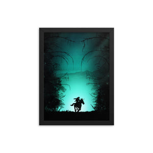 """The Lost Woods"" Framed Premium Luster Photo Paper Poster"
