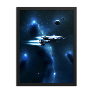 mass effect normandy poster