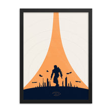 "Load image into Gallery viewer, ""Halo 2"" Framed Premium Luster Photo Paper Poster"