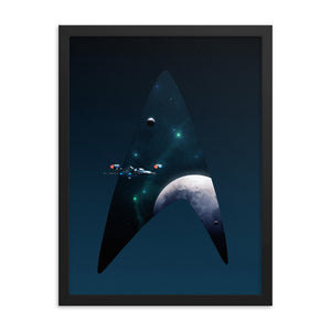 """NX-01"" Framed Premium Luster Photo Paper Poster"