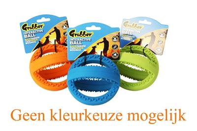 Happy Pet Grubber Interactieve Voetbal Mini Assorti 12,5X12,5X12,5 CM