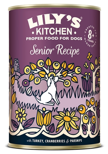 Lily's Kitchen Dog Senior Recipe 6X400 GR