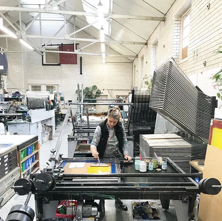 Catherine Rayner - About Screen Printing