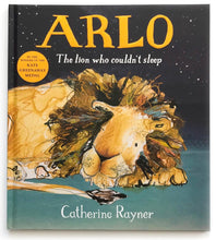Load image into Gallery viewer, Arlo The Lion Who Couldn't Sleep