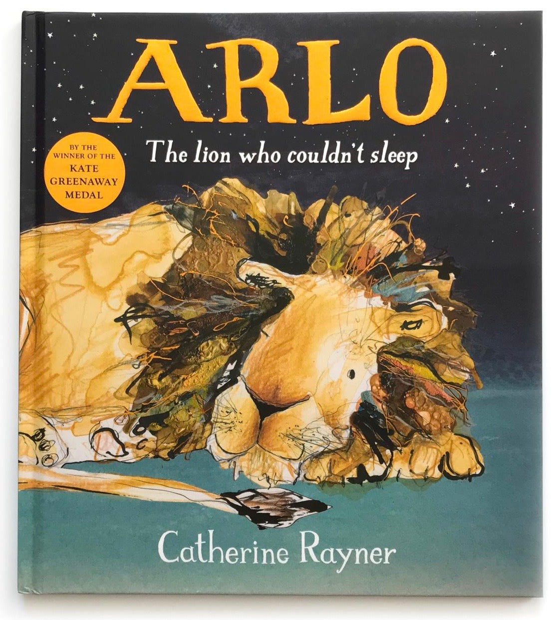 Arlo The Lion Who Couldn't Sleep