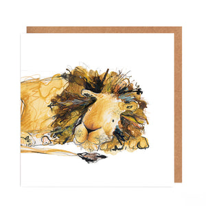 Arlo the Lion - Card for all Occasions