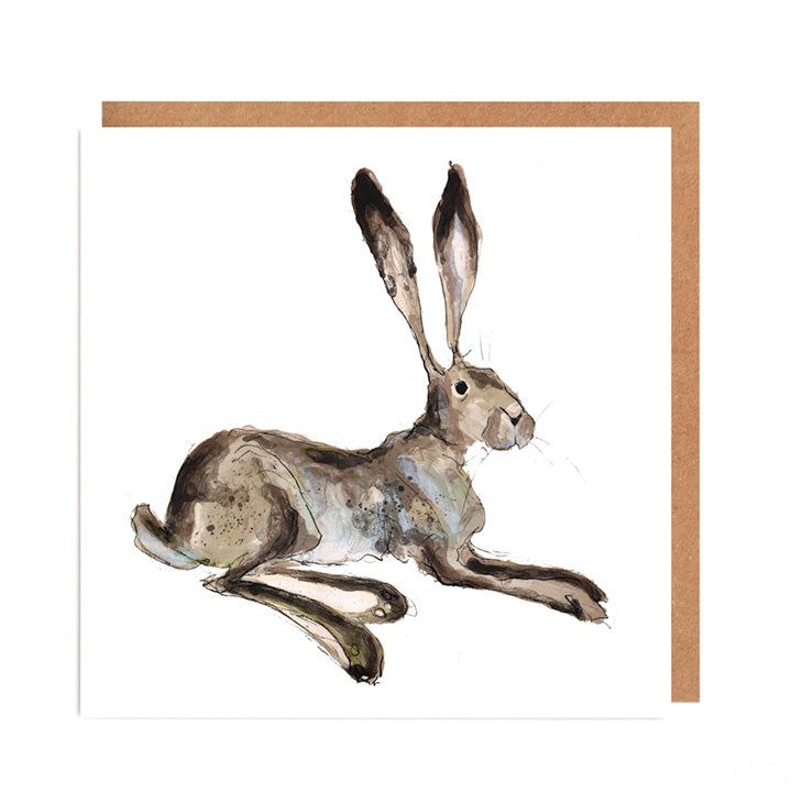 'Arlo' Hare Card for all Occasions
