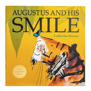 Augustus the Tiger Print - 'Augustus and the Small Shiny Beetle'