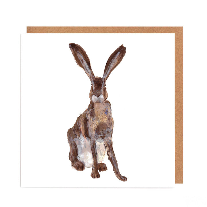 'Bernard' Hare Card for all Occasions