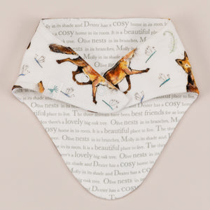 Dexter fox bandana bib back