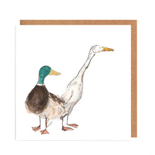 Load image into Gallery viewer, Pair of Ducks Card for all Occasions