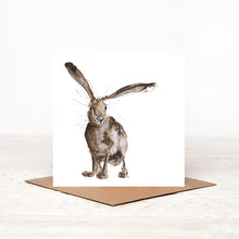 Load image into Gallery viewer, 'Esme' Hare Card for All Occasions