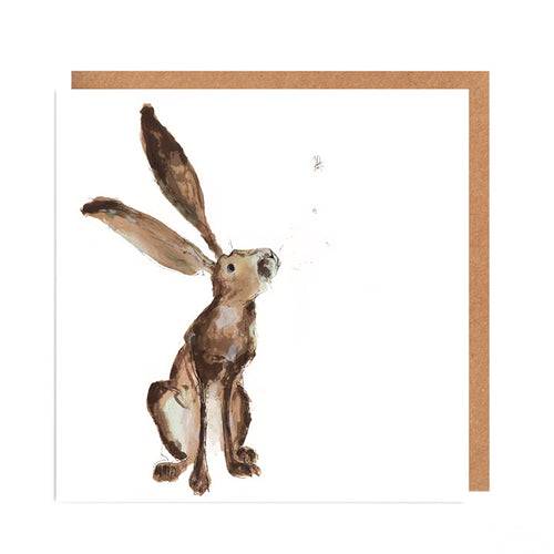 'Eva' Hare Card for all Occasions