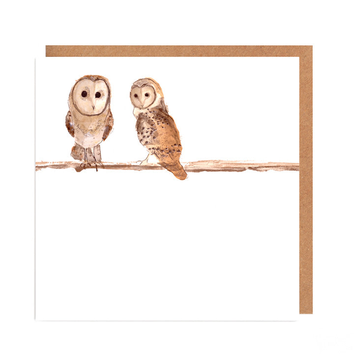 Barn Owls Card for all Occasions