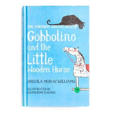 Load image into Gallery viewer, Gobbolino and the little wooden horse