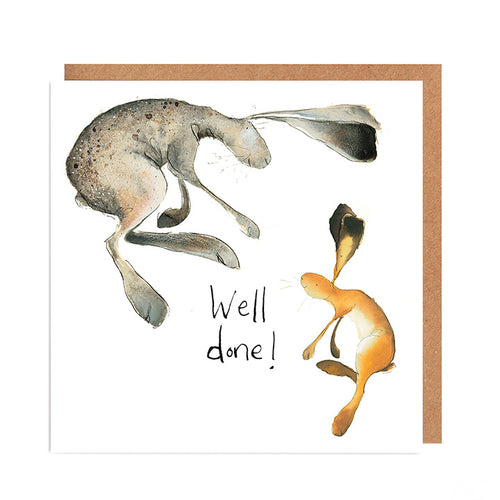 Harris Hare Well Done Card