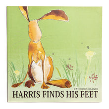 Load image into Gallery viewer, Harris the Hare Print - 'Harris and Grandad'