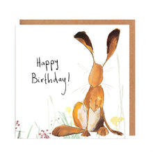 Load image into Gallery viewer, Harris Hare Birthday Card
