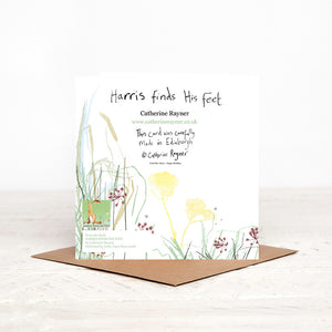 Harris Hare Birthday Card