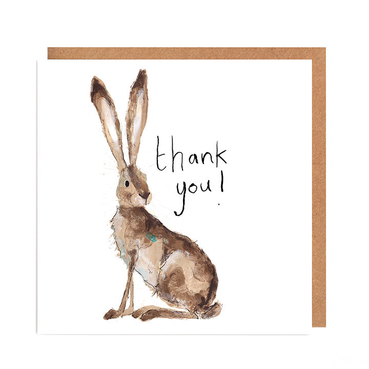Hilary Hare Thank You Card
