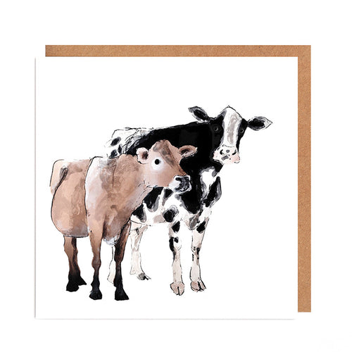 Friendly Cows Card for all Occasions
