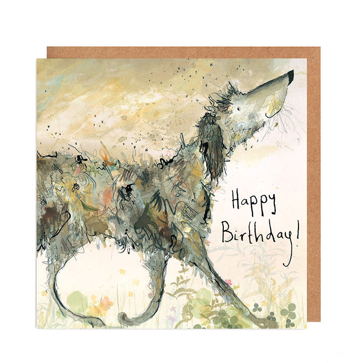 Smelly Louie Dog Birthday Card