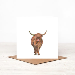 Highland Cow - 'Magnus' - Card for all Occasions