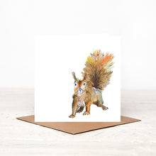 Load image into Gallery viewer, Red squirrel - 'Moses' - Card for all Occasions