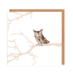 Owl - 'Nicholas' - Card for all Occasions