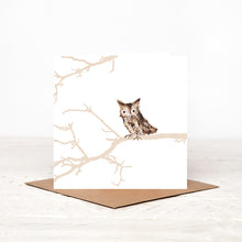 Load image into Gallery viewer, Owl - 'Nicholas' - Card for all Occasions
