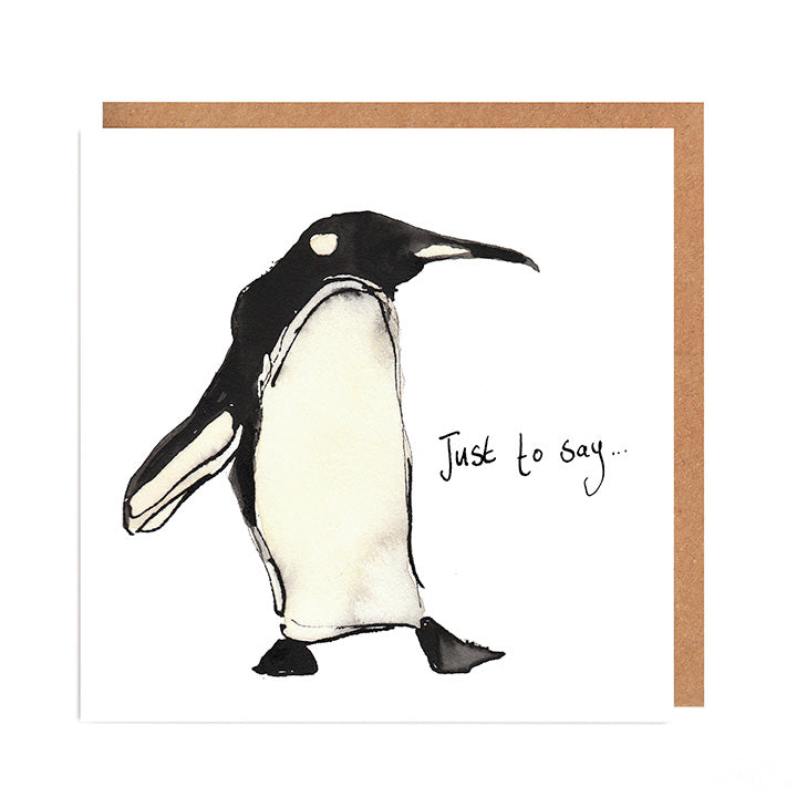 Pablo Penguin Card for any occasion