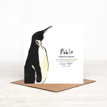 Load image into Gallery viewer, Pablo Penguin Card for any occasion