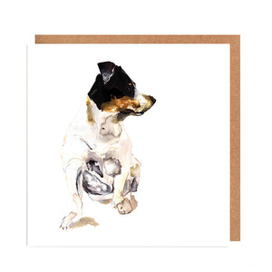 'Pip' Jack Russell Card for all Occasions