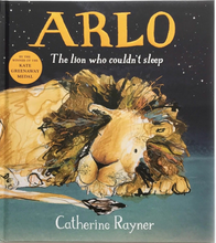 Load image into Gallery viewer, Arlo the Lion Print - 'Arlo Trying to Sleep'