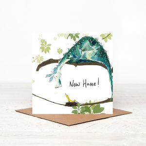 New Home Card - Sylvia & Bird