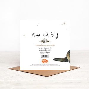 Otters Charity Christmas Card - 'Nona and Reilly'