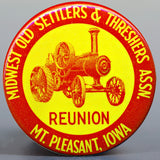 1951 Souvenir Button (Silver Back)