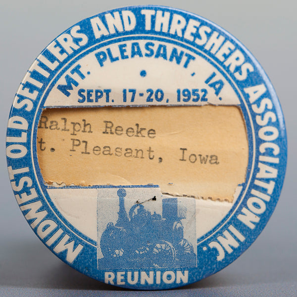 1952 Souvenir Button