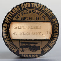 1954 Souvenir Button